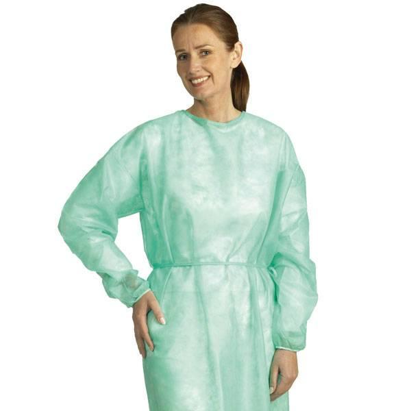 Beschermende jas, niet-steriel Mölnlycke 50 stuks Large 114 cm Lang
