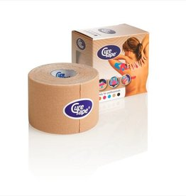 Curetape Curetape 5m x 5cm - 10 pieces - Skin coloured/beige