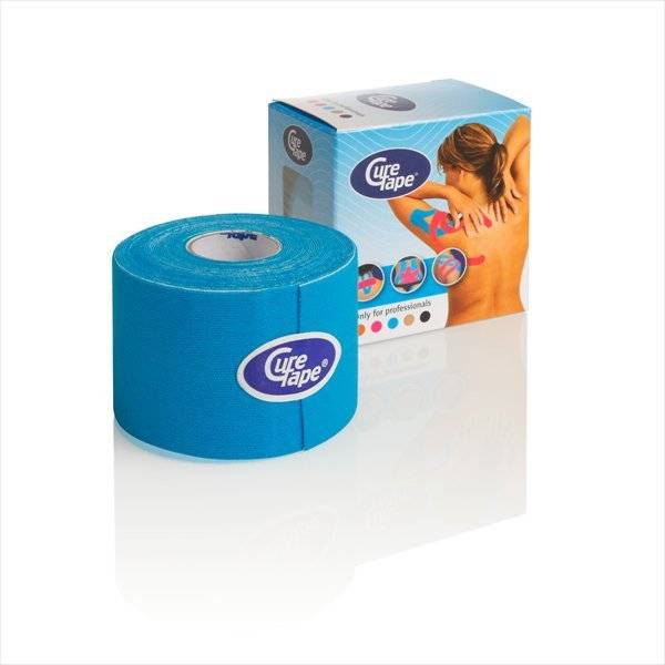 Curetape 5m x 5cm - 10 pieces - Blue