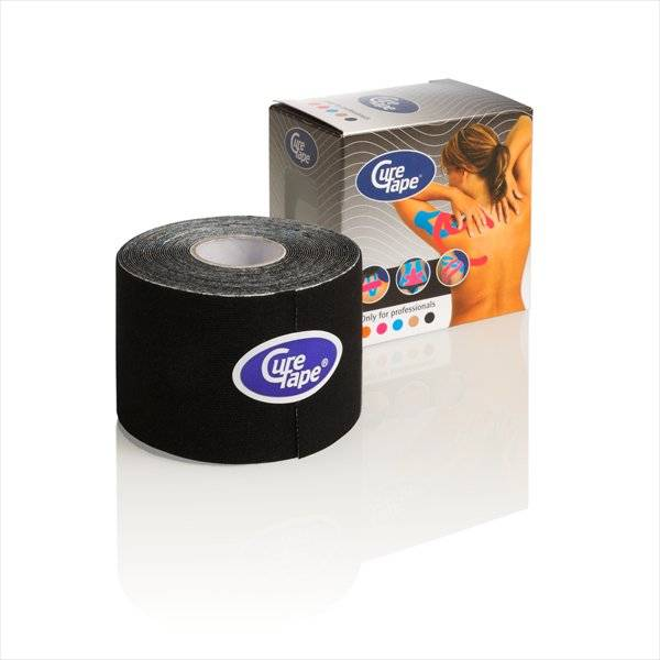 Curetape 5m x 5cm - 10 pieces - Black