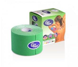 Curetape 5m x 5cm - 10 stuks - groen