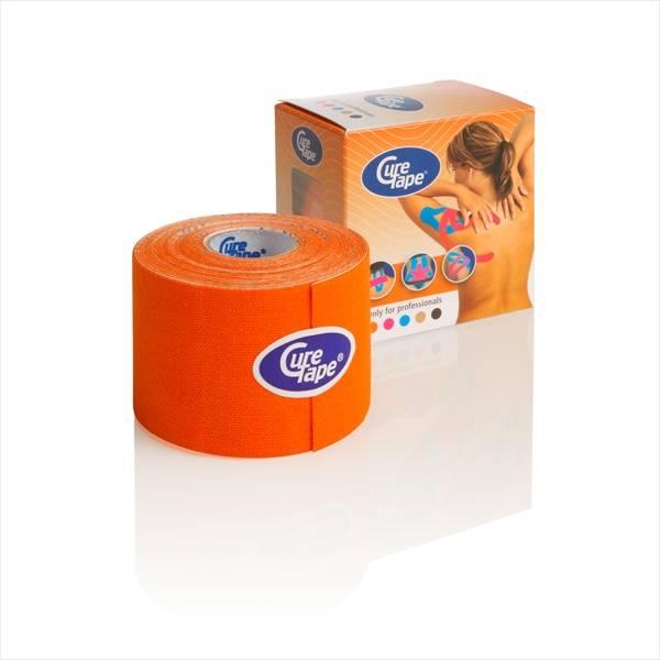 Curetape 5m x 5cm - 10 stuks - oranje