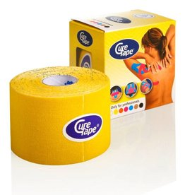 Curetape Curetape 5m x 5cm - 10  stuks - geel