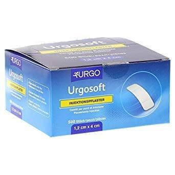 Urgosoft Injection Plasters - 1.2 x 4 cm - 500 pieces