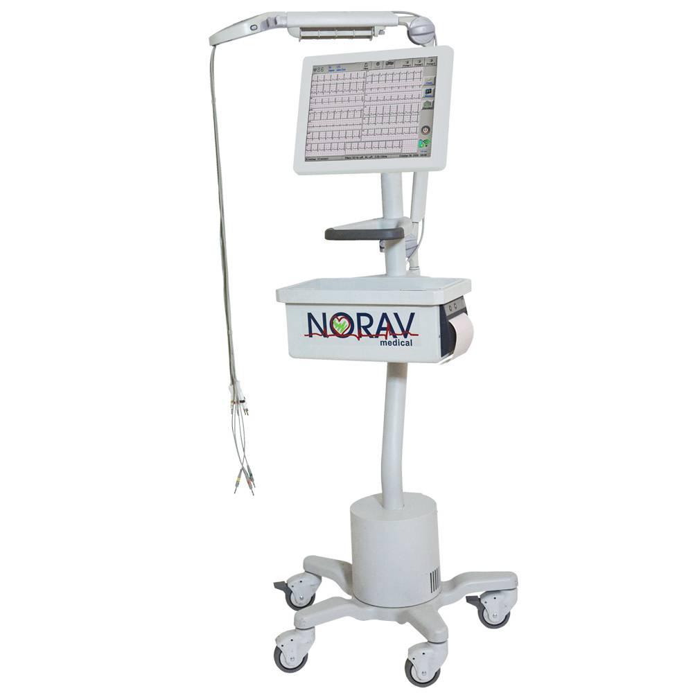 Norav 1200 Green PC Rest ECG System