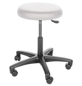 Economy swivel stool - hard castors for soft flooring
