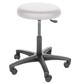 Servoprax Economy swivel stool - hard castors for soft flooring