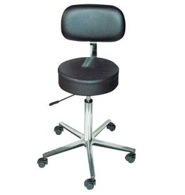 Servoprax Lab-/Surgical stool ECO - with backrest