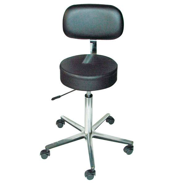 Lab-/Surgical stool ECO - with backrest