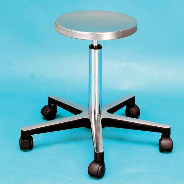 Stainless steel operating stool - absolute hygiene