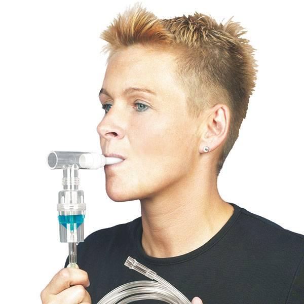 Medische Vakhandel Intersurgical medicijnvernevelaar met mondstuk