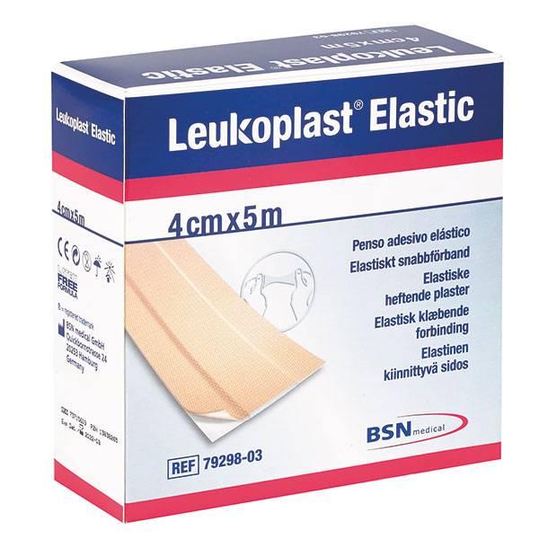 Leukoplast Elastic Wundschnellverband - 4cm x 5m