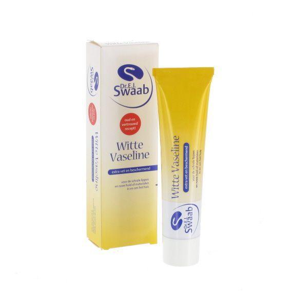 Vaseline Dr. Swaab - Tube 30 gr weiß