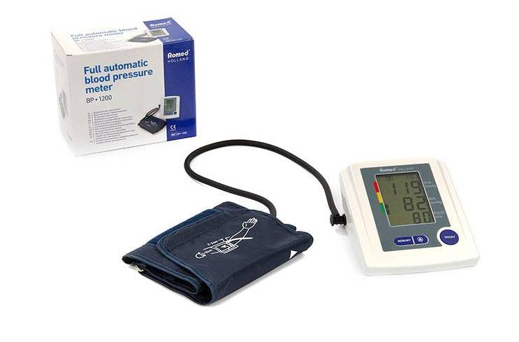 Romed electronic blood pressure monitor