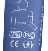 Manchet geschikt voor onder andere de Servocare 24-uurs ABPM bloeddrukmeter - medium - 24-32 cm