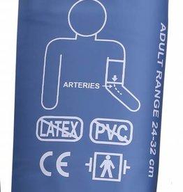 Servoprax Manchet geschikt voor onder andere de Servocare 24-uurs ABPM bloeddrukmeter - medium - 24-32 cm