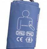 Manchet geschikt voor onder andere de Servocare 24-uurs ABPM bloeddrukmeter - large - 32-38 cm