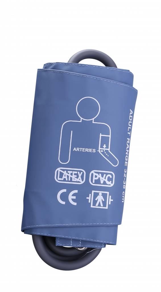 Servoprax Manchet geschikt voor onder andere de Servocare 24-uurs ABPM bloeddrukmeter - large - 32-38 cm