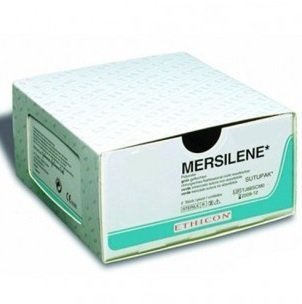 Ethicon Mersilene 4/0 1x45cm FS2S R633H Nahtmaterial - 36 Stück