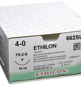 Ethicon Ethilon II usp 4-0 45cm FS-2S zwart monofil 662SLH 36x1