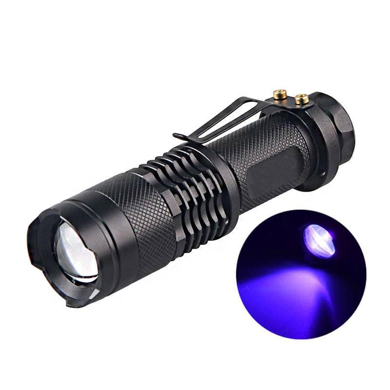 LED UV flashlight 'Wood' 365 nm