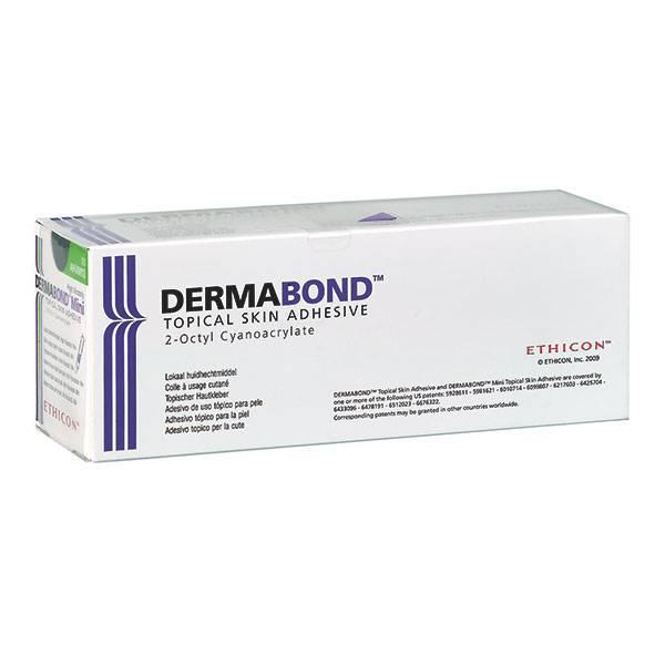Ethicon Dermabond skin glue - 12 pieces