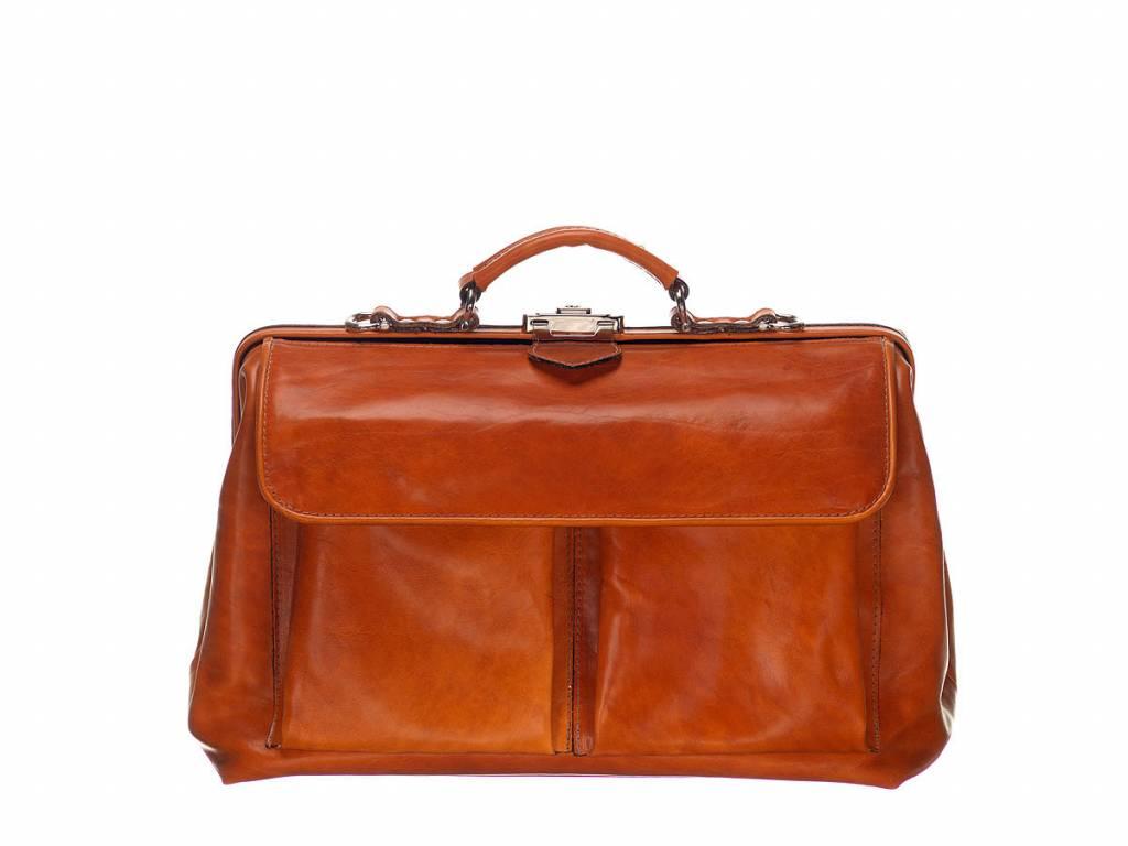 Mutsaers Leather Doctor's Bag - Der Doktor - Groß mit Fronttaschen