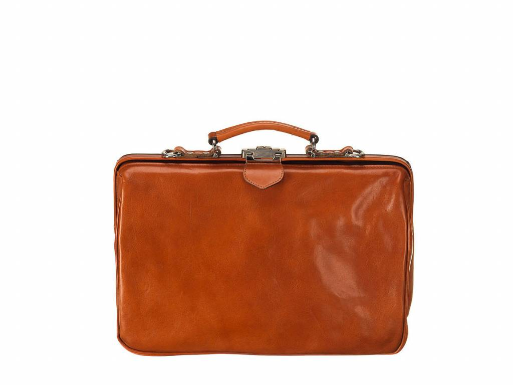 Mutsaers Leather Laptop Bag - The Classic