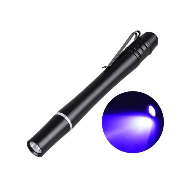 Medische Vakhandel LED UV zaklamp  'Wood' 365 nm - lang