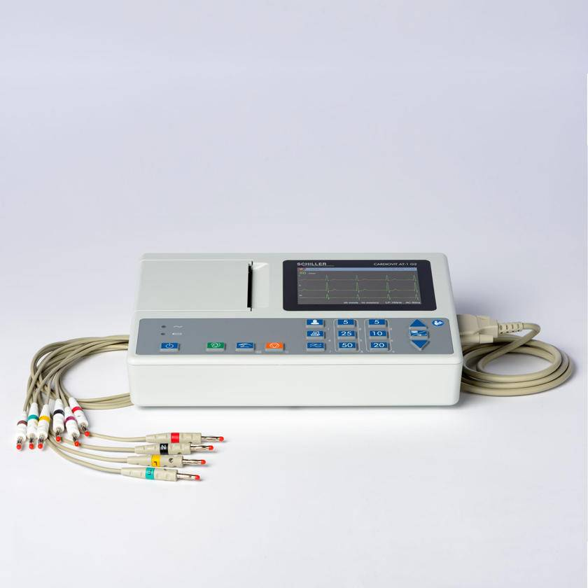 Medische Vakhandel Schiller ECG AT1 G2 + accessories and interpretation software
