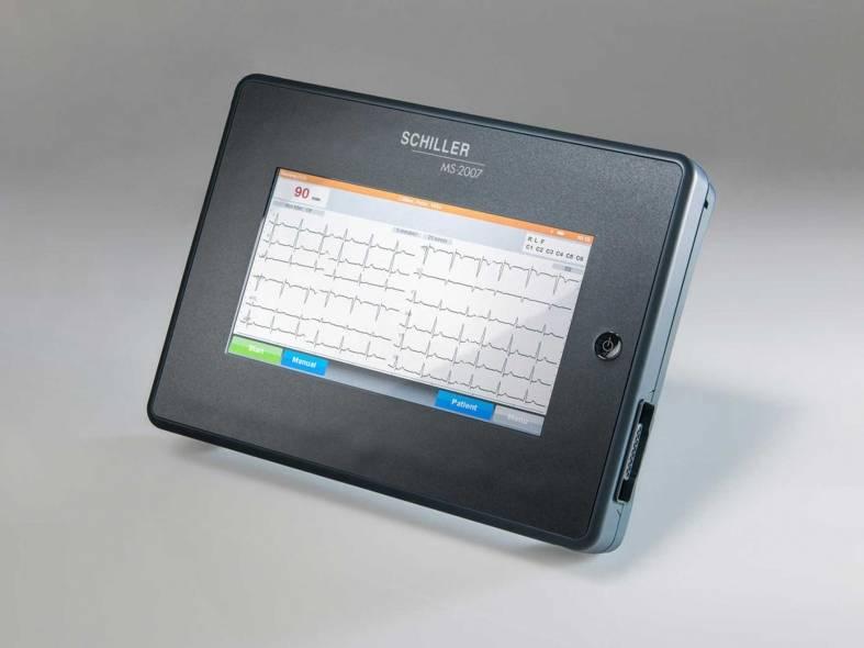 Schiller ECG MS 2007 + accessoires en interpretatiesoftware