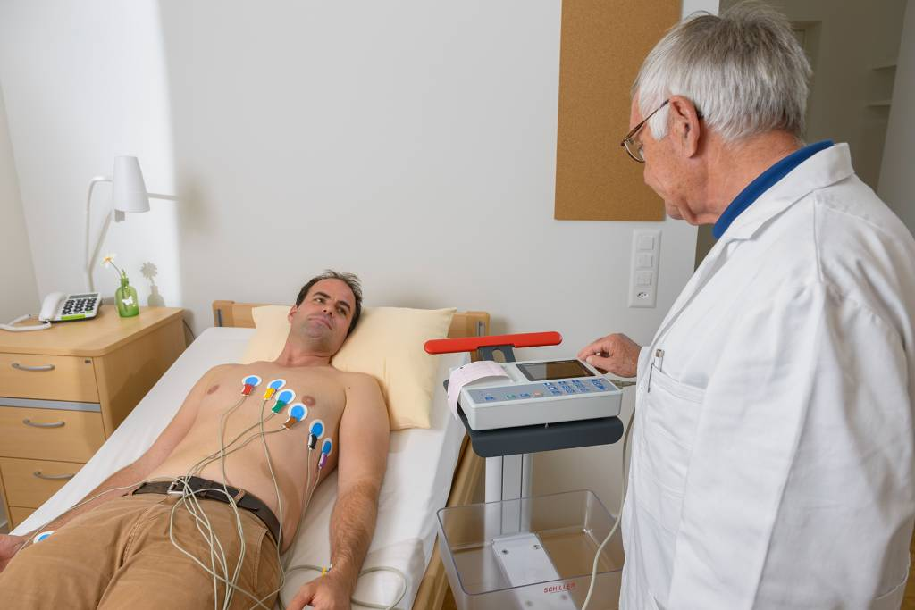 Medische Vakhandel Schiller ECG AT1 G2 + accessoires en interpretatiesoftware