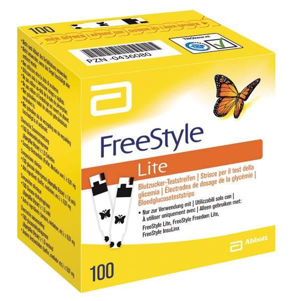 FreeStyle Freedom ™ Lite 100 Testing