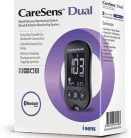 iSens INC Caresens Dual Messgerät - Starterpaket Blutzucker- & Ketone-Messgerät