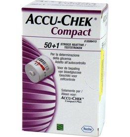 Roche Accu-Chek Compact test strips - 51 pieces
