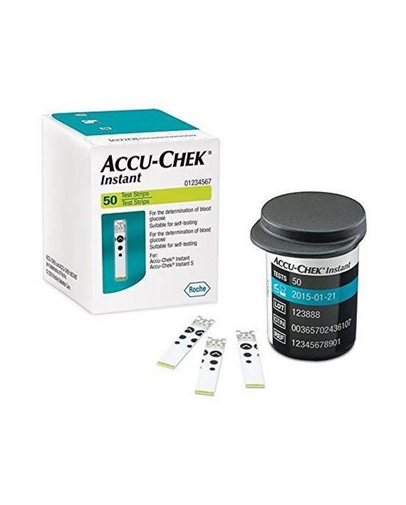 Roche Accu-Chek Instant test strips - 50 pieces