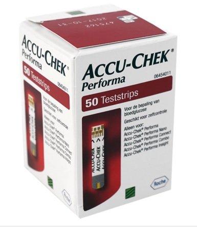 Roche Accu-Chek Performa teststrips - 50 stuks