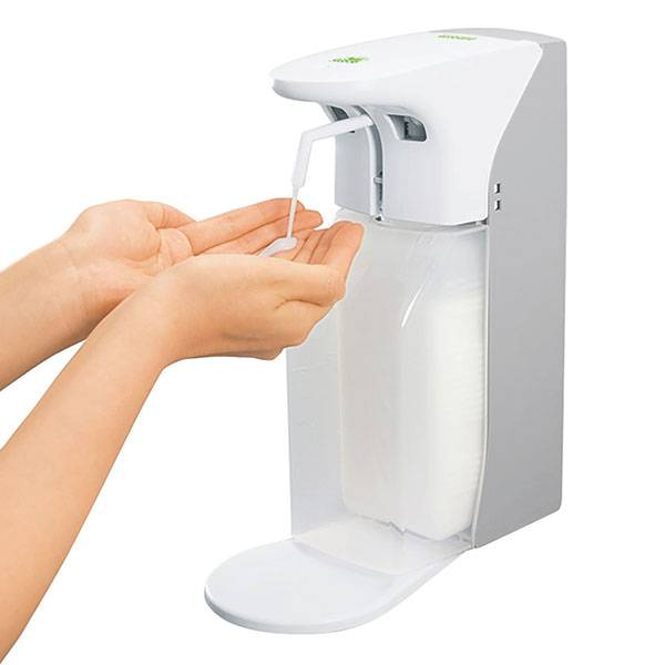 Soap and disinfectant dispenser with sensor - 500/1000 ml