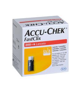 Roche Roche Accu Chek FastClix lancetten - 204 stuks