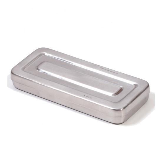 Stainless steel instrument box round corners