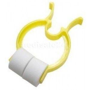 Kunststoff Einmal Nasenklemmen mit  Schaumstoff Polster - 50 Stück