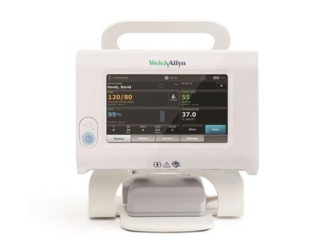 Welch Allyn Welch allyn Connex Spot Monitor mit 30 Minuten RR-Messung + Connex Spot Stativ