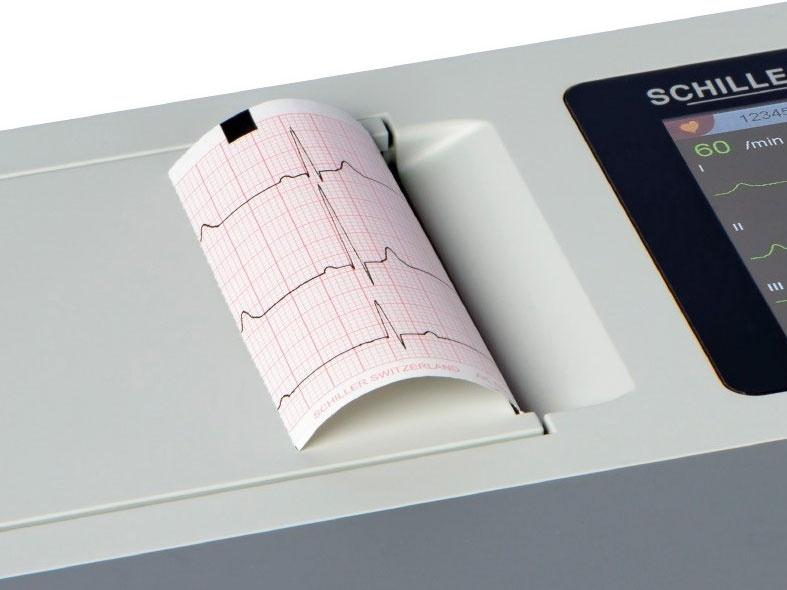 Schiller Cardiovit AT-1 G2 EKG-Papier (716242) - 80 mm x 70 mm Z-Falz