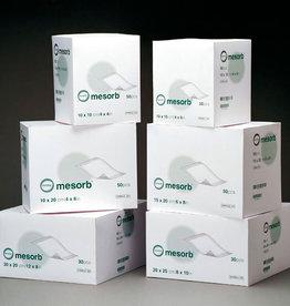 Molnlycke Mesorb absorbierender halbdurchlässiger, nicht klebender Verband 10 cm x 13 cm - 50 Stück