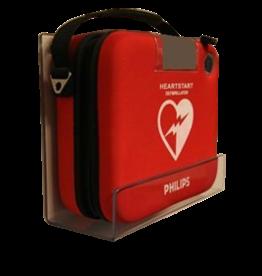 Medische Vakhandel Philips HS-1 (smalle draagtas) Perspex wandbeugel