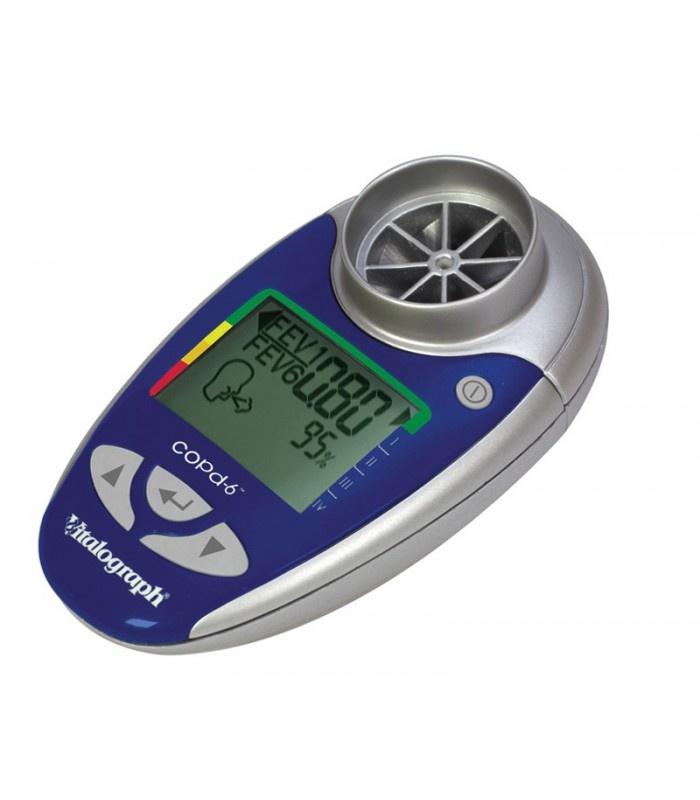 Vitalograph COPD-6 USB incl. software voor PDF Huisarts & Wetenschap 'Microspirometrie verbetert de diagnostiek bij COPD'