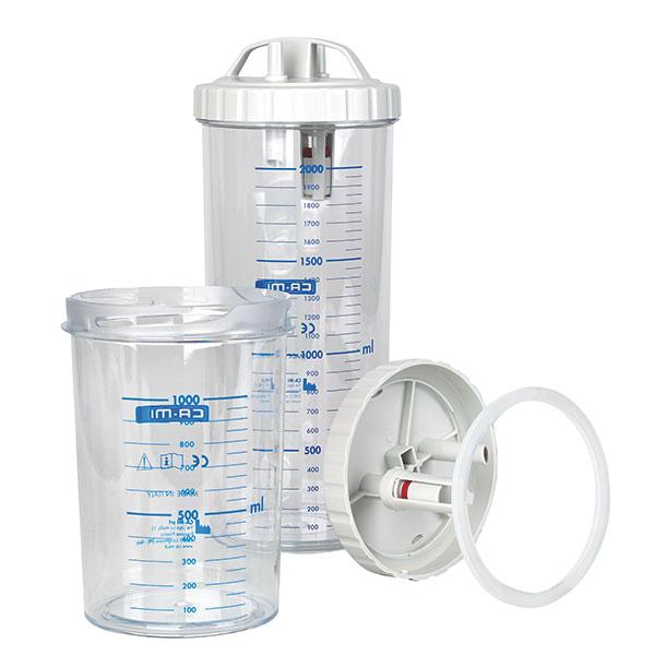 Absaugbehälter für New Askir 30 und New Askir 230-12 BR - 2 Liter