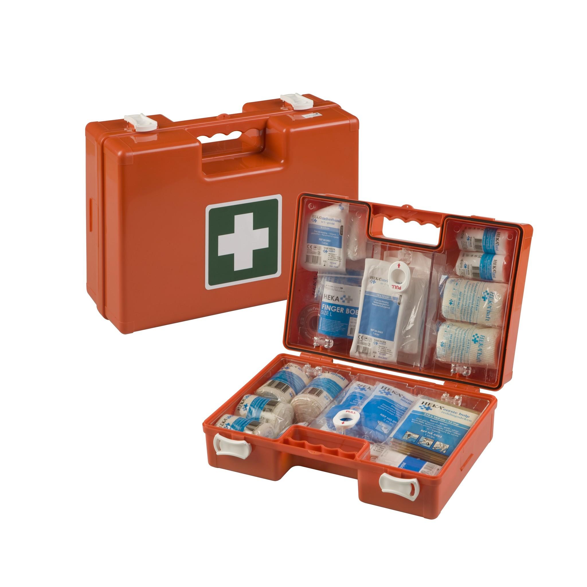 van Heek HEKA Erste Hilfe Notfallkoffer Medimulti BHV 2016