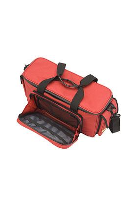 HEKA eerste hulp schouder-/ sporttas rood - geen inhoud