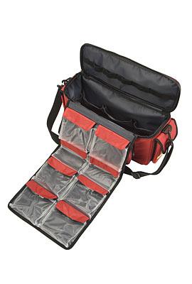 van Heek HEKA first-aid shoulder/sports bag - red - no contents